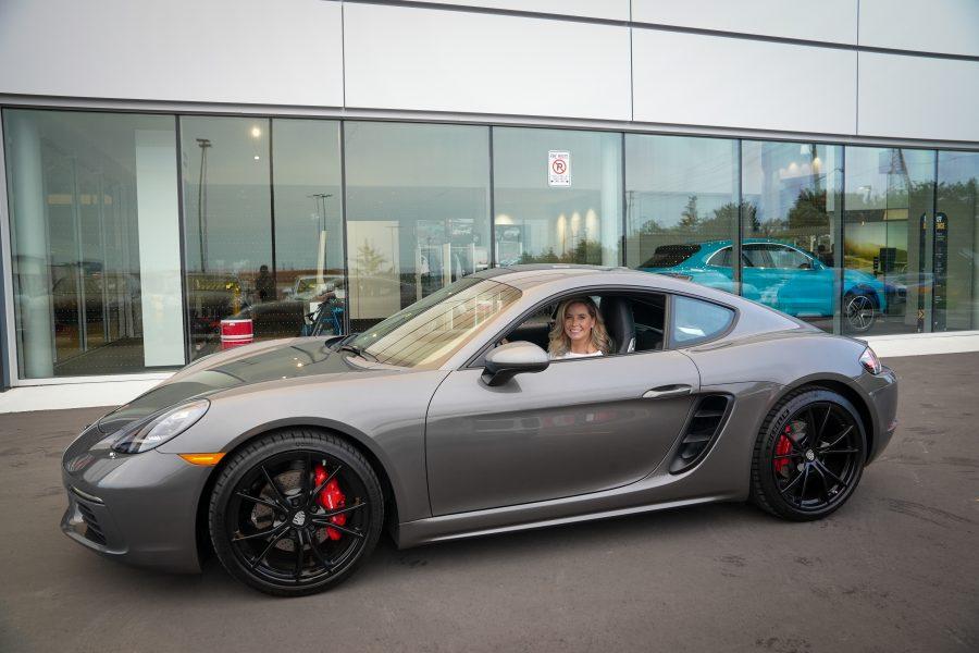 Emily Batty Porsche Cayman